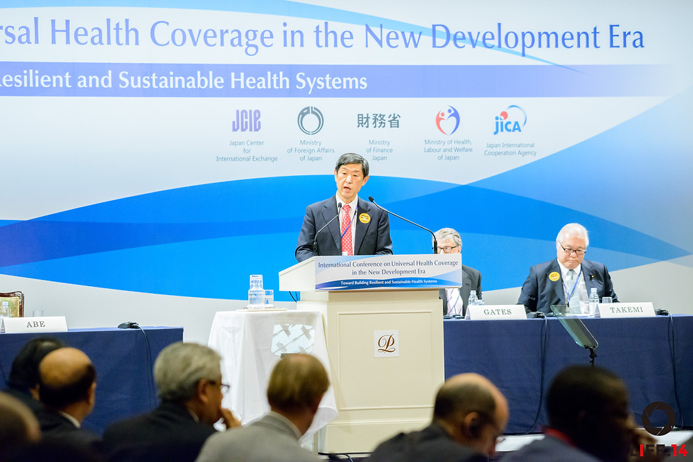 Universal Health Coverage in the New Development Era: Toward Building Resilient and Sustainable Health Systems Tokyo | December 16, 2015 SHINICHI KITAOKA, President, Japan International Cooperation Agency (JICA)