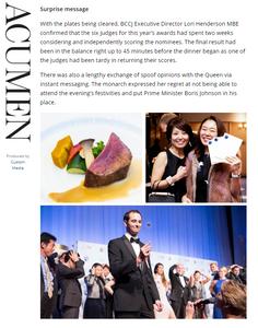 PUBLICITY NOVEMBER/DDecember 2019  BBA  BBCJ 2019 BRITISH BUSINESS AWARDS   https://bccjacumen.com/bccj-2019-british-business-awards/   British Chamber of Commerce in Japan 在日英国商業会議所  https://www.bccjapan.com/