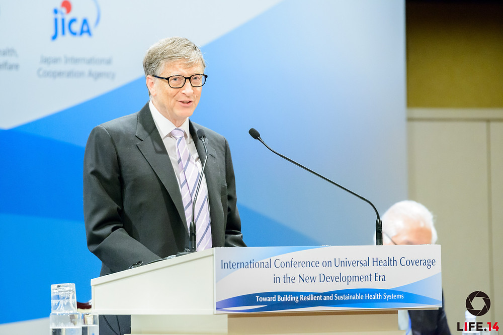 Universal Health Coverage in the New Development Era: Toward Building Resilient and Sustainable Health Systems Tokyo | December 16, 2015 Keynote Speech by Bill Gates, Co-chair, Bill & Melinda Gates Foundation