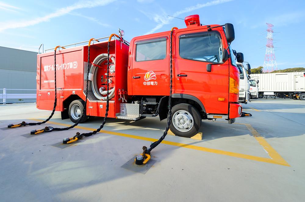 「安全」を考える  Vol.01 「リスクに向き合う」浜岡原子力発電所 - 注水ポンプ車