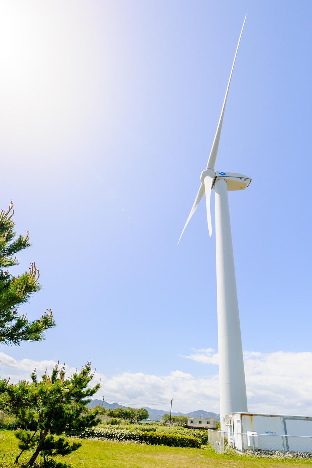 エネルギーと私たちの暮らし Vol.09 次世代エネルギーパークを回ってみた。 静岡市の環境学習プログラム 風電君