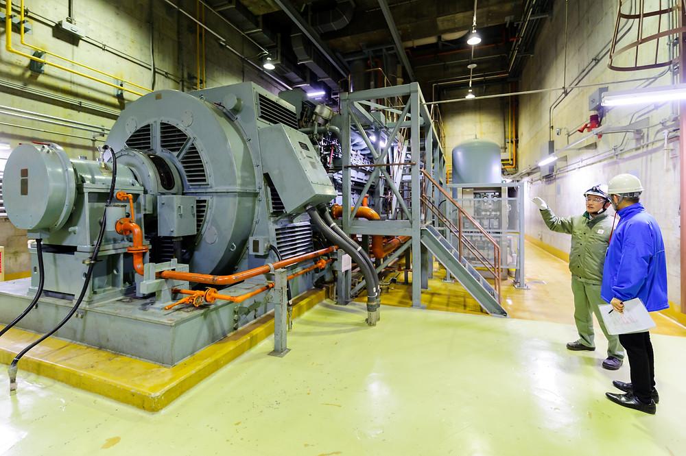 「安全」を考える  Vol.01 「リスクに向き合う」浜岡原子力発電所 - 非常用ディーゼル発電機