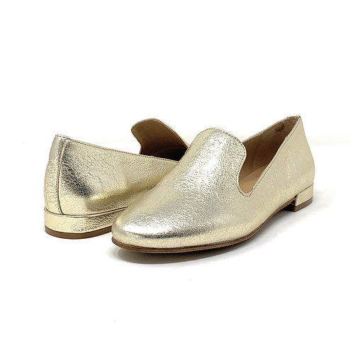 BUCKLES   LIOR   GOLD LEATHER