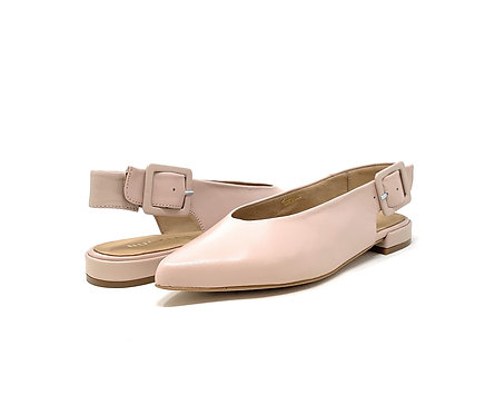 BUCKLES | LORRAINE | NUDE LEATHER