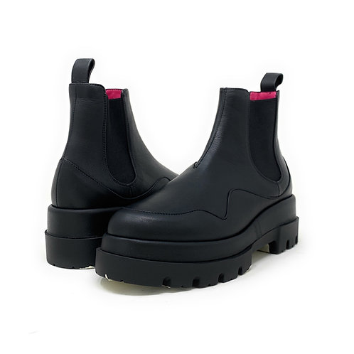 LE BABE   PETER   BLACK LEATHER