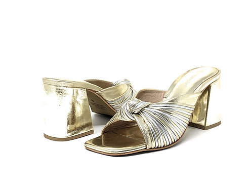 JEFFREY CAMPBELL | MELON | SILVER/GOLD LEATHER