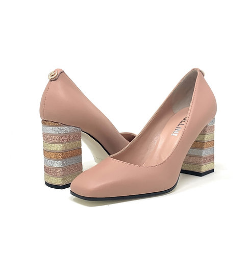 POLLINI | GABBY | NUDE LEATHER