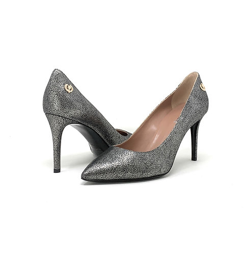 POLLINI | COSMO | PEWTER SUEDE