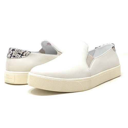 COLE HAAN   CONTENDER   WHITE LEATHER