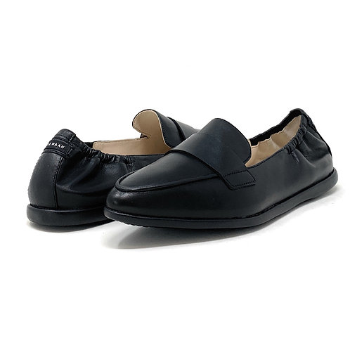 COLE HAAN   AMADOR   BLACK LEATHER
