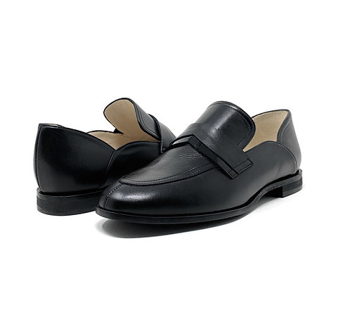GADEA | AMARAL | BLACK LEATHER/PATENT BAND