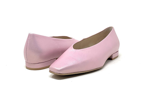 GADEA | BRAD | PINK METALLIC LEATHER