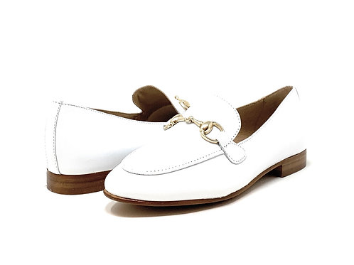 BUCKLES | MOC | WHITE LEATHER