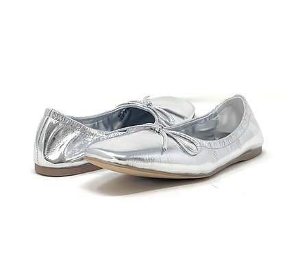BUCKLES | BALLERINA | SILVER LEATHER