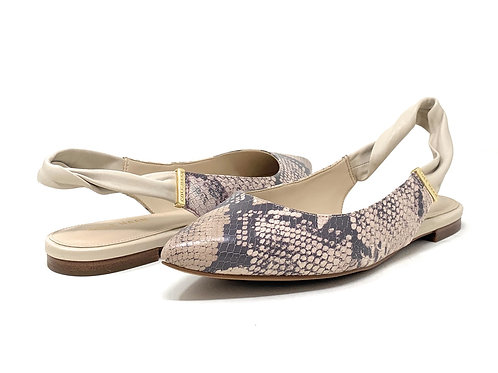 COLE HAAN   GAD   IVORY SNAKE LEATHER