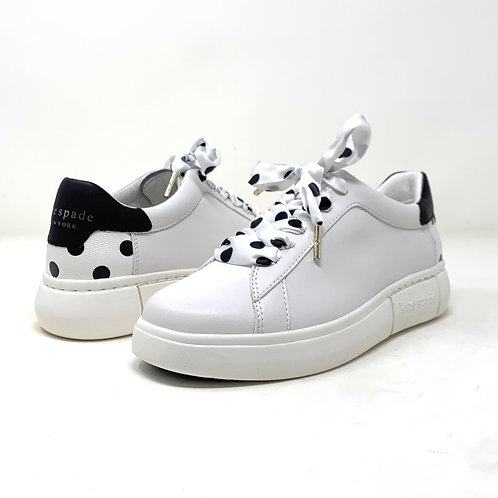 KATE SPADE   LEFT   WHITE LEATHER