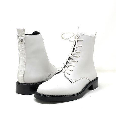 SAM EDELMAN | NIN | WHITE LEATHER