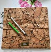 Tasche in Arbeit - Klappdeckel
