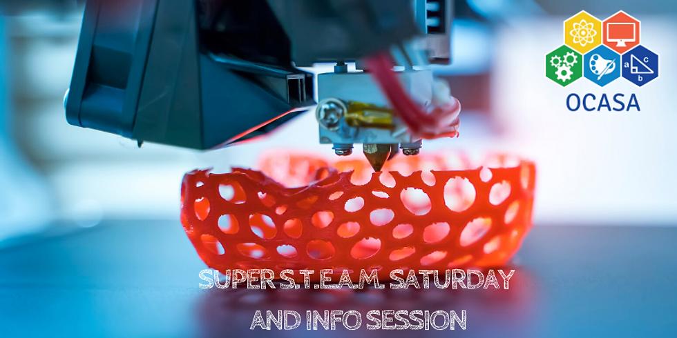 Super S.T.E.A.M. Saturday & Parent Info Session