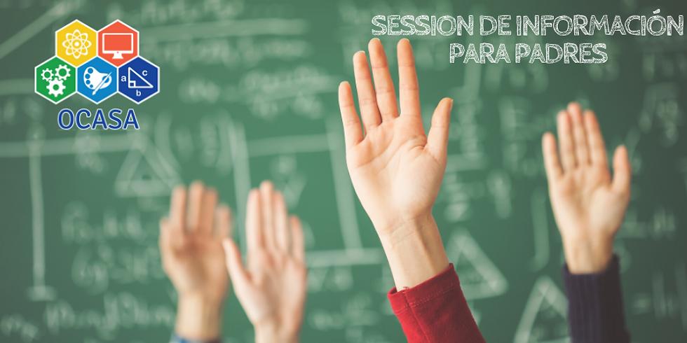 Session de Información Para Padres (en Español)