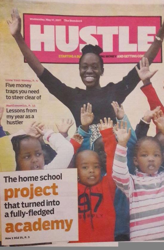 We featured in Standard Newspaper's Hustle Magazine
