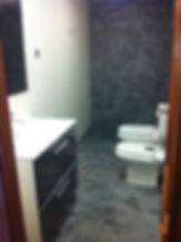 Mikrocement. Beton. Toaleta.