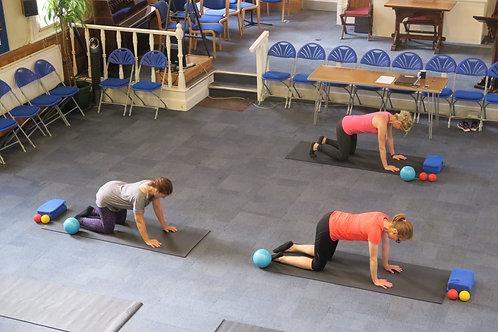 Pilates Online Class