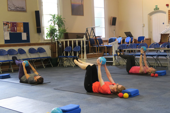 NEW GENERAL PILATES CLASS