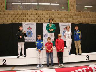 Nand en Pieter met zijn team Belgium Senior behaalden goud op Flemish Open 2015!