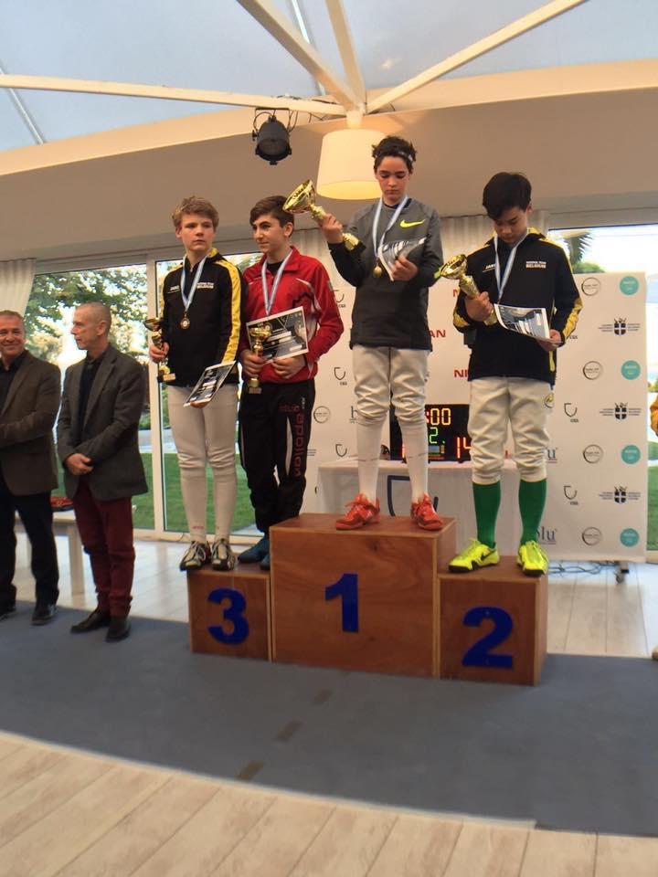 Nand behaalde de zilveren medaille