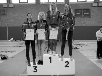 BK Cadetten-Junioren 2016: 3 gouden, 1 zilver en 3 bronzen medailles voor de Klauwaerts!