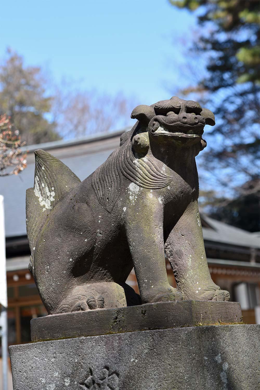 布多天神社 狛犬