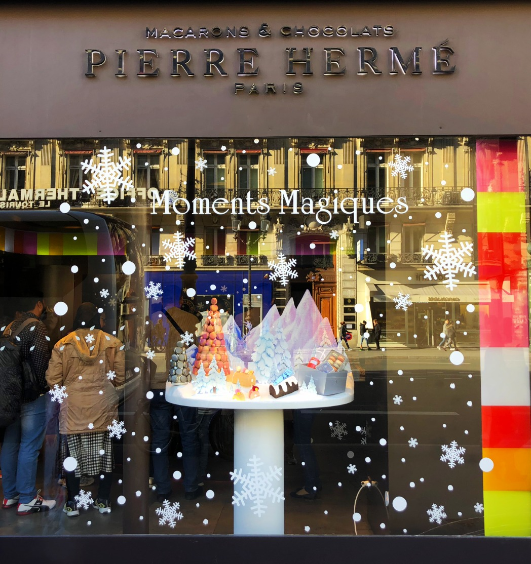 Vitrines de Noel 2018 - Pierre Hermé