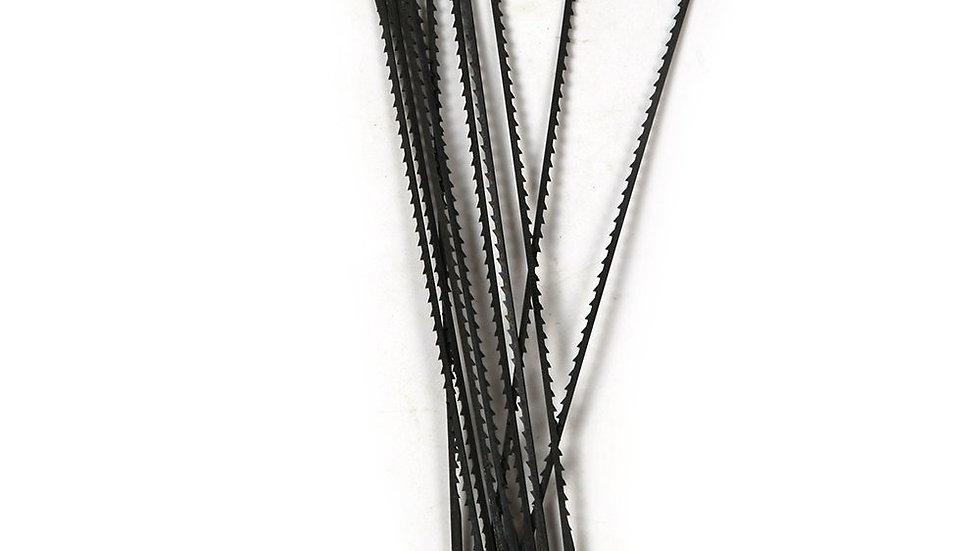 Jeu de 84 lames bois 160mm (7 tailles)