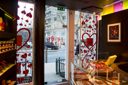 Vitrines UK Saint Valentin 2018