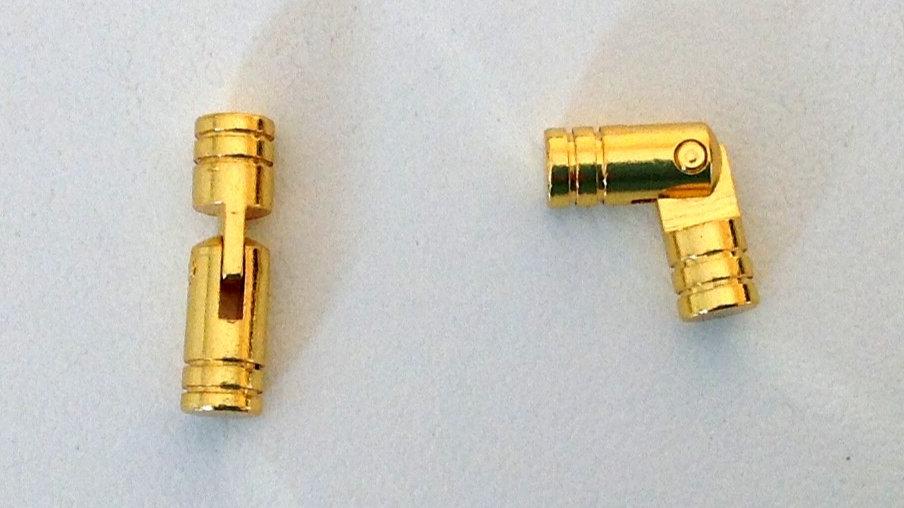 Charnière à tenons 5mm (lot de 2)