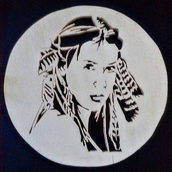 Femme amérindienne