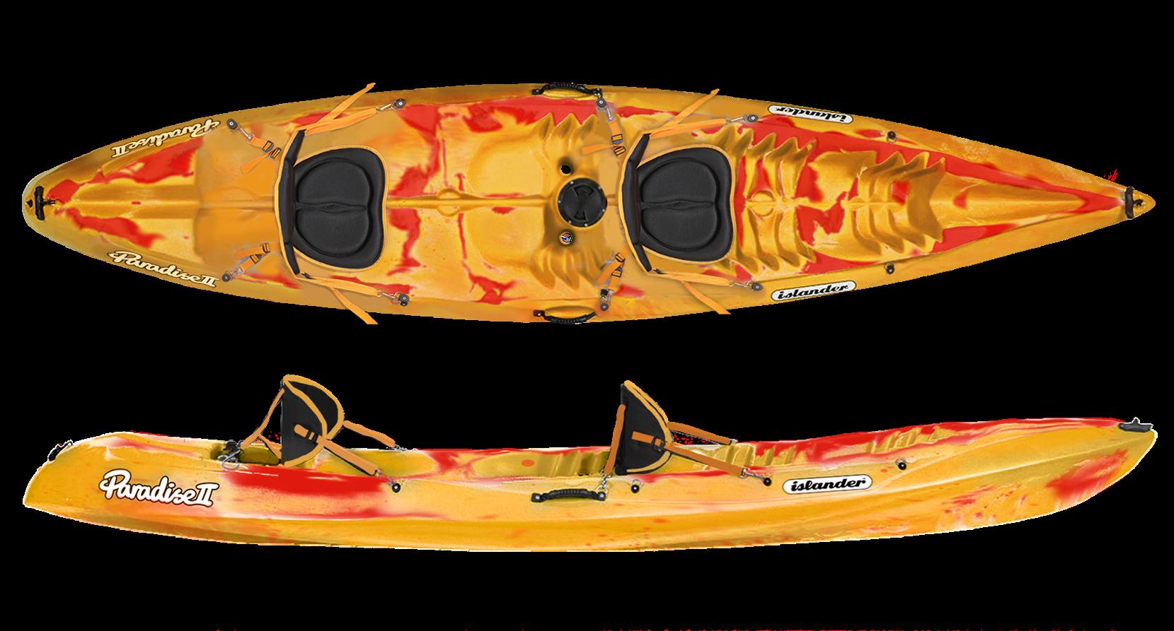 Double Kayak (2 People = 1 Participant)