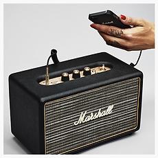 Marshall Acton Black Bluetooth speaker - PLANET of SOUND
