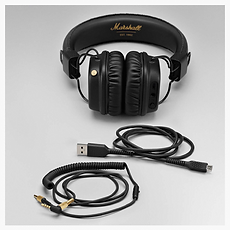 Marshall Major II Black Bluetooth headphones - PLANET of SOUND