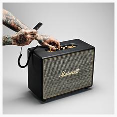 Marshall Woburn Black Bluetooth speaker - PLANET of SOUND