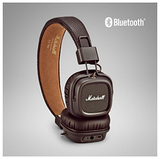 Marshall Major II Brown Bluetooth headphones - PLANET of SOUND