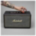 Marshall Stanmore Black Bluetooth speaker - PLANET of SOUND - Marshall Headphones