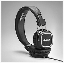Marshall Major II Steel Series - On Ear Headphones - PLANET of SOUND | Marshall Headphones