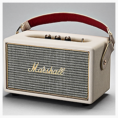 Marshall Kilburn Cream Portable Bluetooth speaker - PLANET of SOUND