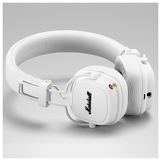 Marshall Major III Bluetooth White headphones | PLANET of SOUND