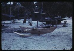 Kili, Paddle Canoe, 8-14-1949, Photo by Leonard Mason, Robert C. Kiste Collection, UHawaii, Manoa