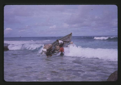 Small Boat Landing - 12-01-1963, Photo by Robert Kiste, Source -Robert C Kiste Collection, UHawaii,