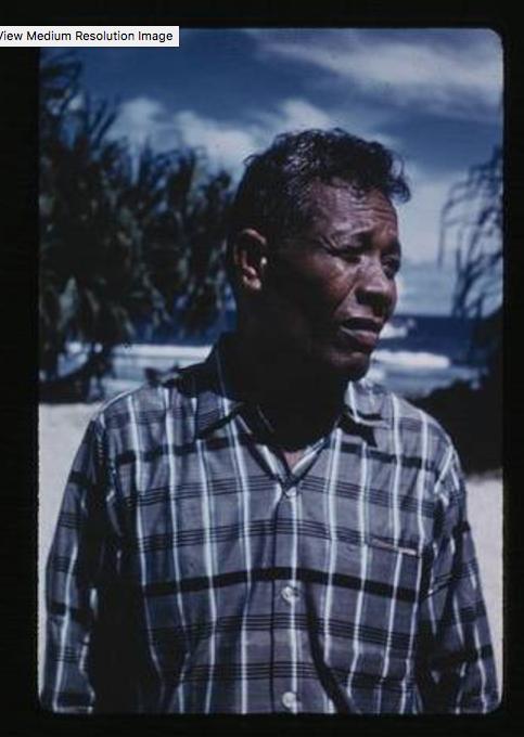 Kili, Juda, 9-2-1957, Photo by Leonard Mason, Robert C. Kiste Collection, UHawaii, Manoa