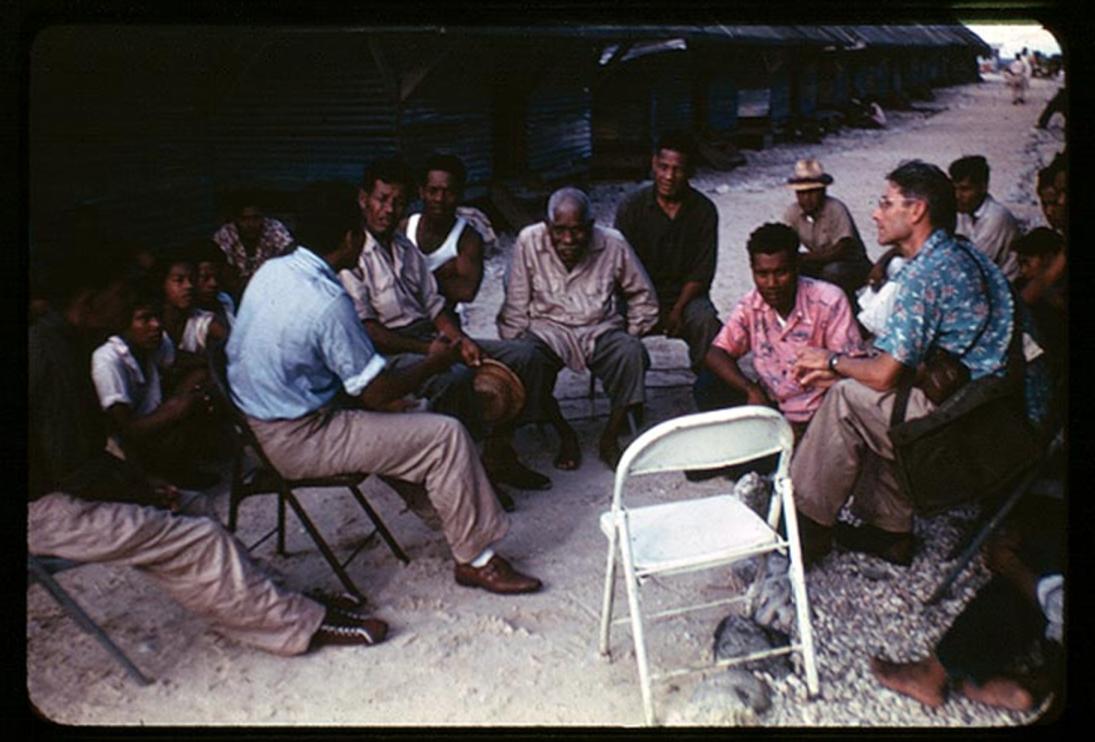 Kwajalein 02, 8-3-1948, Photo by Leonard Mason, Robert C. Kiste Collection, UHawaii, Manoa